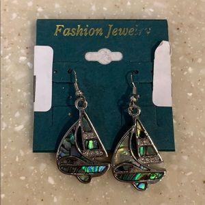 NWT Sailboat Earrings